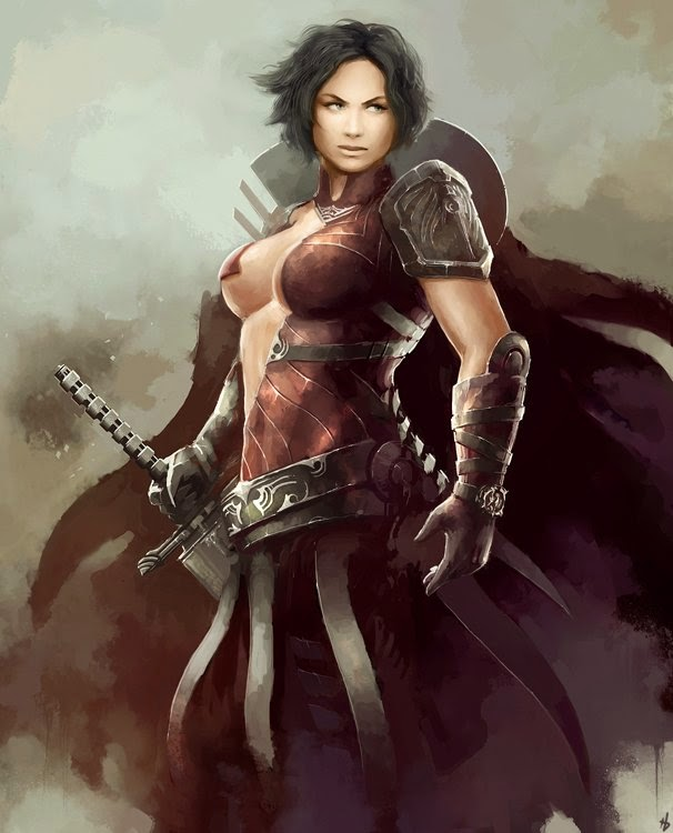 Wallpaper Most Stylish Women Warriors In Digital Arts: Philly RPG Group: P8 Campaign